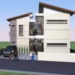 Desain Rumah Kost Minimalis Modern 2 Lantai Berlokasi Di Sulawesi