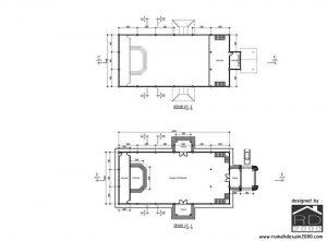 Denah-bangunan-gereja-HKBP-300x221 Bangunan Project Lists Rumah ibadah   - Jasa desain rumah - Rumah Desain 2000