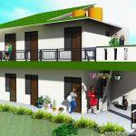 Rumah-kost-sederhana-tampak-perspektif-150x150   - Jasa desain rumah - Rumah Desain 2000