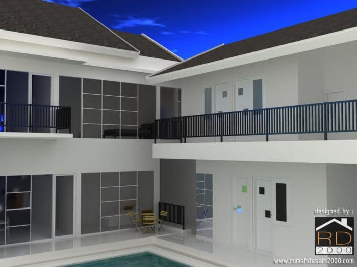 Rumah Dengan Fasad Minimalis Dan Elegan