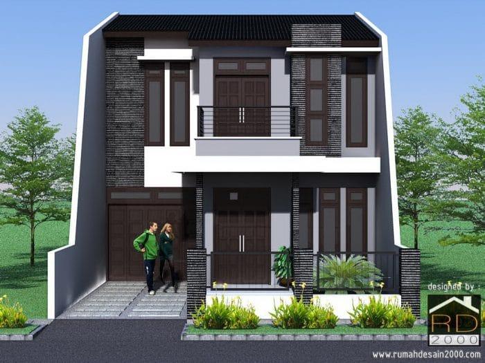 510+ Gambar Rumah Tampak Depan Modern Gratis Terbaru