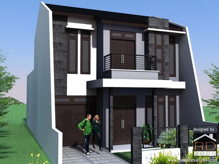 Desain Rumah Minimalis Modern Dan Elegan