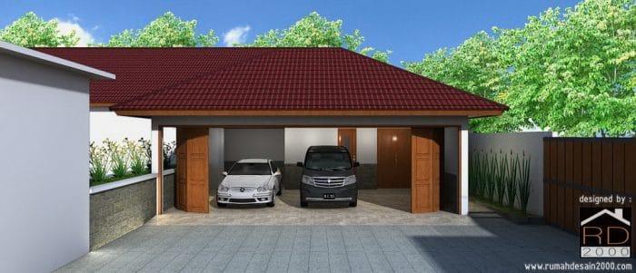 Rumah Peristirahatan Minimalis Modern Di Cibubur