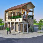 Desain Ruko Minimalis Modern Berlokasi Di Bali