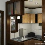 Desain Interior Dapur Dengan Konsep Minimalis