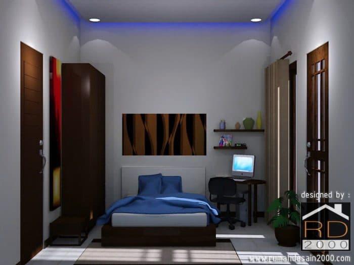 Gambar Desain Interior Kamar Tidur Tampak Depan