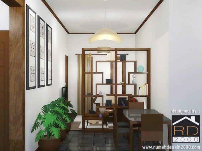 Gambar Tampak Depan Desain Interior Ruang Tamu