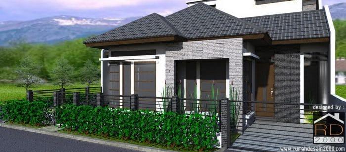 Desain Rumah Minimalis Di Posisi Hook