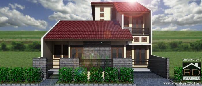 Gambar Rumah Minimalis Kontemporer Tampak Depan