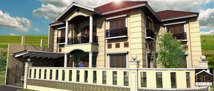 Desain Renovasi Rumah Klasik Kontemporer Di Bintara