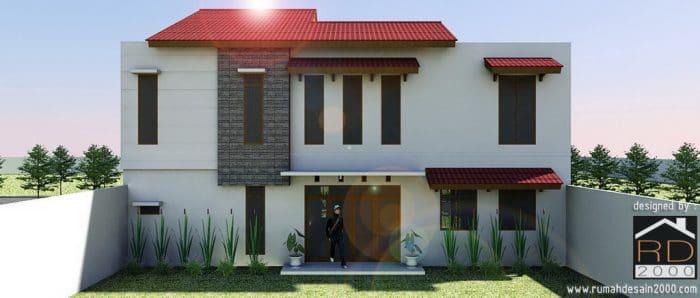 Renovasi Rumah Minimalis Tropis Di Duren Sawit