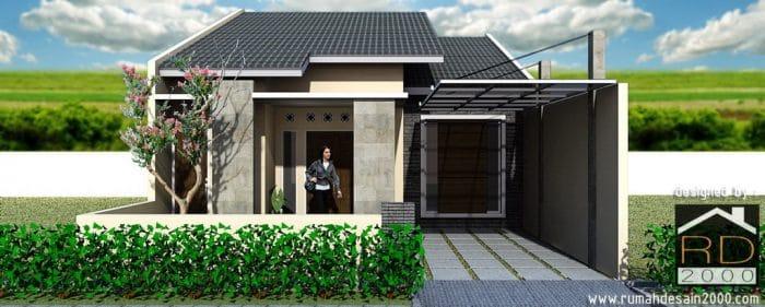 Konsep Desain Rumah Minimalis Di Perumahan Depok Permai