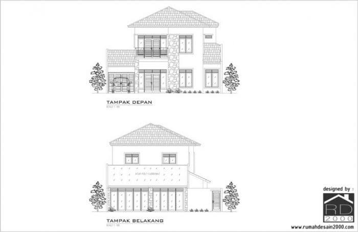 Gambar Konsep Fasad Renovasi Rumah BSD