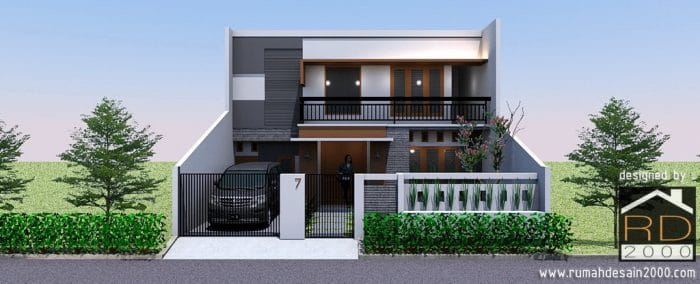 Renovasi Rumah Minimalis Modern Berlokasi Di Pondok Ungu