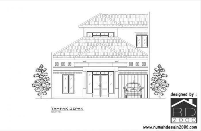 Desain Renovasi Rumah Berlokasi Di Metro Lampung