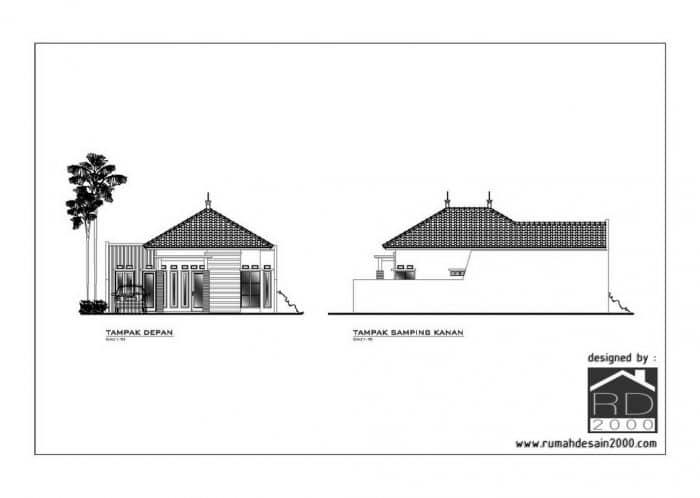 Desain Rumah Minimalis 1 Lantai Berlokasi Di Bogor