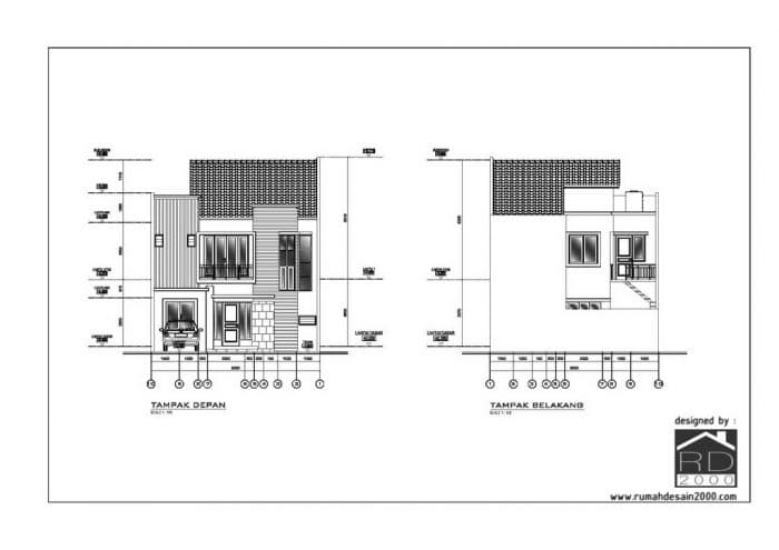 Renovasi Rumah Tinggal 2 Lantai Di BSD