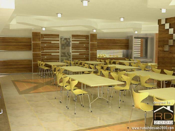 gambar desain cafetaria view 1