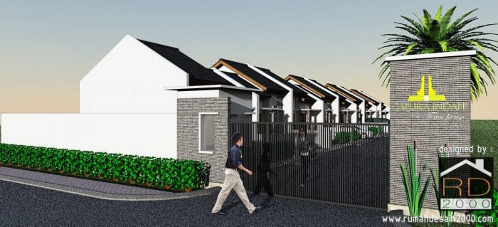 Townhouse Minimalis Berlokasi Di Bintaro