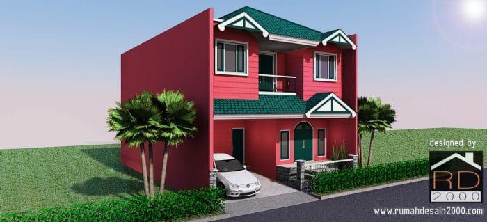Desain Rumah Unik Di Pulo Asem