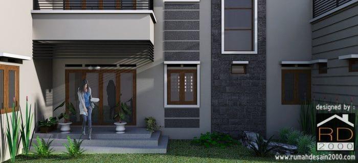 gambar model desain rumah mewah Close Up 1