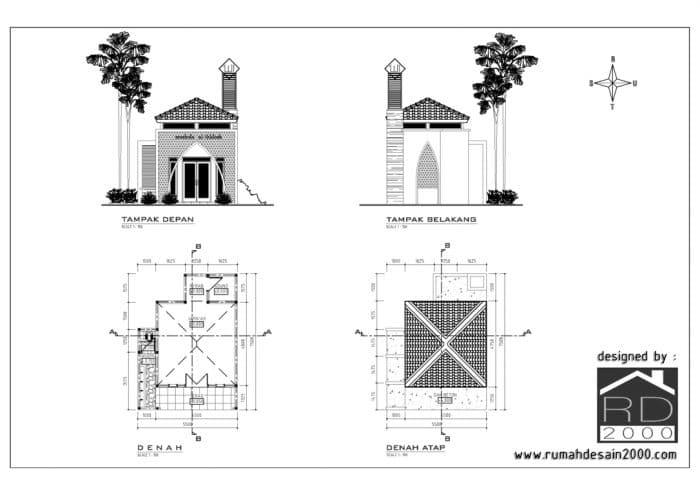 Desain Musholla Mungil Minimalis