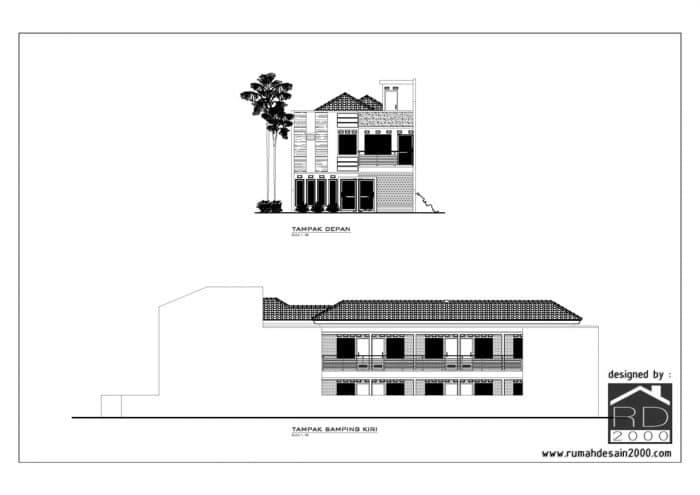 Rumah Kost 2 Lantai Di Jakarta Timur