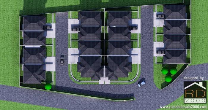 Konsep Desain Perumahan Mewah Cluster Cibubur Exclusive