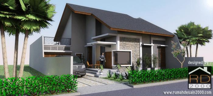 Desain Rumah Minimalis Berlokasi Di Cinere