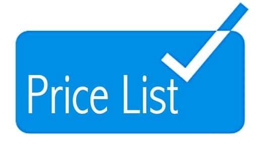 gambar daftar harga biaya desain