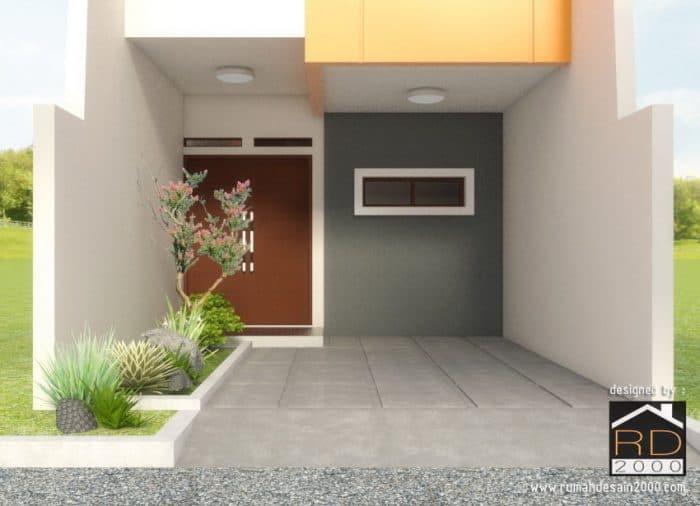 gambar tampak rumah model minimalis