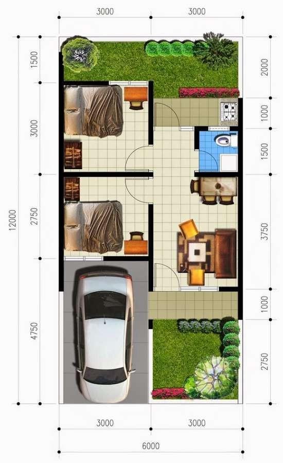 Gambar-denah-rumah-minimalis-6x12