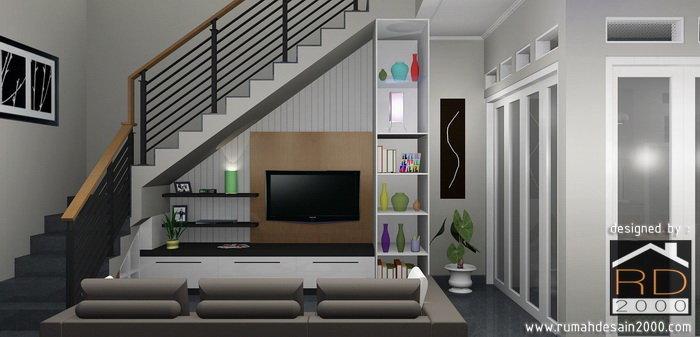 Interior Ruang Keluarga Gambar Desain Rumah Minimalis.jpg - Rumah Desain  2000