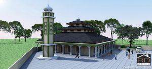 Konsep-renovasi-masjid-Al-Muhajidin-300x137 Bangunan Project Lists Rumah ibadah