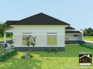 Tampak-samping-kiri-rumah-kuno-belanda-300x225 Desain Rumah Project Lists   - Jasa desain rumah - Rumah Desain 2000