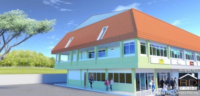 Tampak-bangunan-kantor-minimalis-renovasi-700x336 Bangunan Interior Project Lists Ruko   - Jasa desain rumah - Rumah Desain 2000
