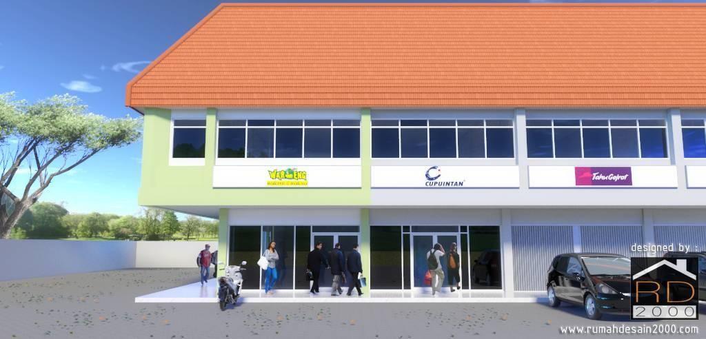 Renovasi Tata Ruang Kantor Di Pasar Minggu