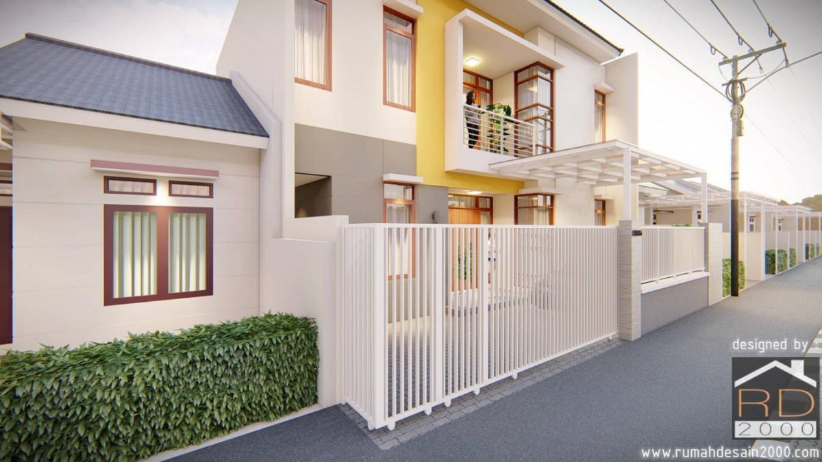 Model Rumah Minimalis 2 Lantai Di Tangerang