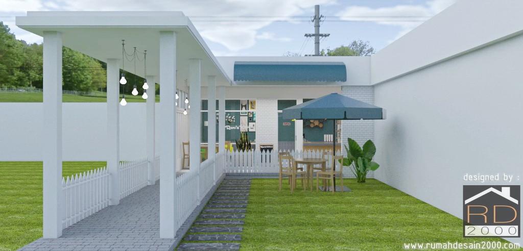 Desain Cafetaria Minimalis Di Studio Persari