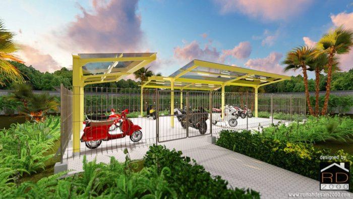 garasi-motor-700x394 Bangunan Pekerjaan Sipil Project Lists